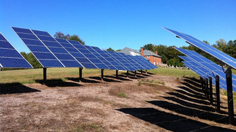 One of the largest Ground Mount solar system in Virginia
