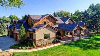 Mountain Lodge Inspired Home
