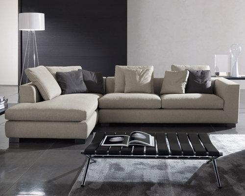 Minotti   Minotti Matisse Modern Sectional Sofa   Sectional Sofas