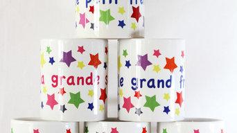 mugs déco personnalisables