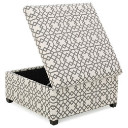 Contemporary Footstools And Ottomans by GDFStudio