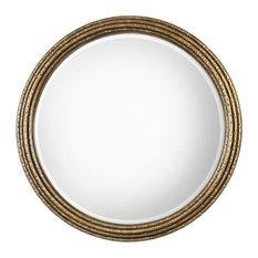 The Round Gold Mirror Spera Round Gold Mirror