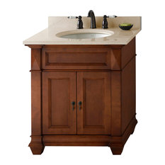 "Ronbow Torino Solid Wood 30"" Vanity Set With Ceramic Sink"
