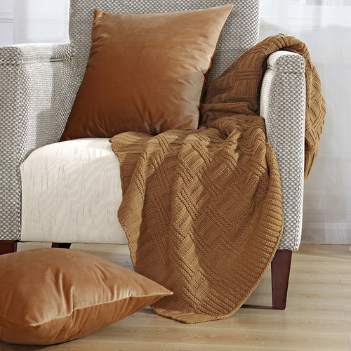 BOON Throw Blanket & Throw Pillow 3 PIece Combo Sets