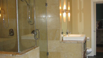 Steam Shower done with Schluter Systems