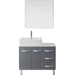 Good Contemporary Bathroom Vanities And Sink Consoles by Virtu Usa Inc
