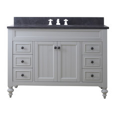 48-inch Earl Grey Single Sink Bathroom Vanity From The Potenza Collection