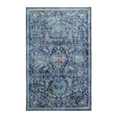 Mohawk Prismatic Elizbeth Medium Blue, Blue, 8'x10'