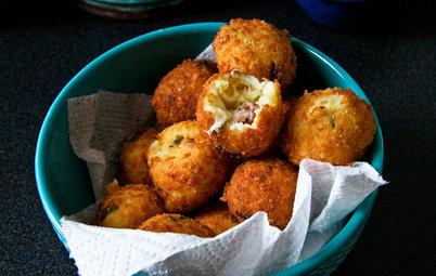 Aux fourneaux : Des croquettes mozza-jambon de Parme pour l'apéro