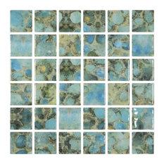 """Rodas, 2""""x2"""", Glass Tile"""