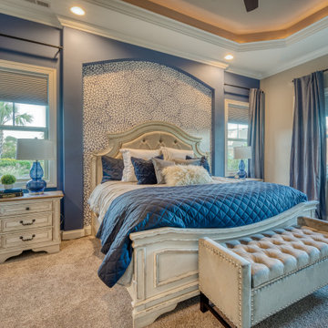 Rustic Contemporary Master Bedroom and Bath Redesign