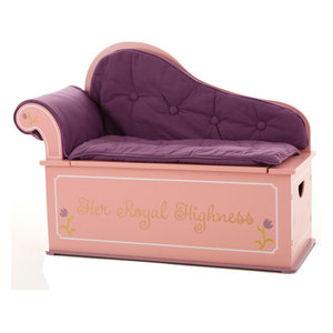 Prince Bench Seat With Storage Transitional Kids