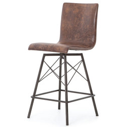 Industrial Bar Stools And Counter Stools by Kathy Kuo Home