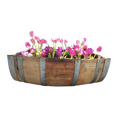 ladybagssf wine barrel planter outdoor pots and planters alpine wine design outdoor
