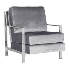 Walden Accent Chair, Light Gray