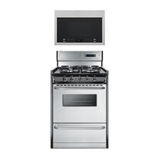 """2-Piece Kitchen Package with TTM63027BKSW 24"""" Freestanding Gas Range and HMV1472"""