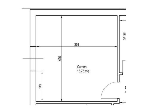 Disposizione camera da letto