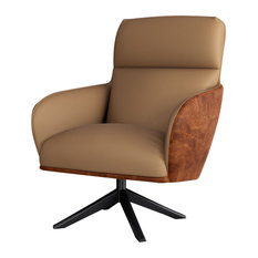 Christie Lounge Chair, Safari and Distressed Whisky
