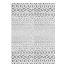 "Patterned 2389 Area Rug, 5'0""x7'0"""