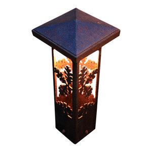 Nightscaping Garden Series Corten Steel Light Bollard