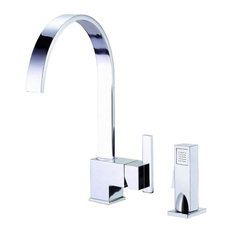 Danze Sirius Single Handle Kitchen Faucet With Sprayer