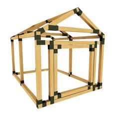 38in W x 60in D E-Z Frame Dog/Pet House Kit