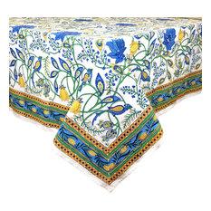 """Laura's Garden Tablecloth, 60""""x92"""""""