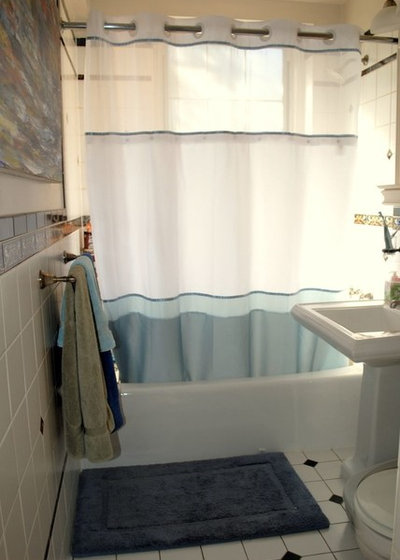 Before and After: Eric's Bathroom