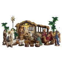 21 Piece Life Like Nativity