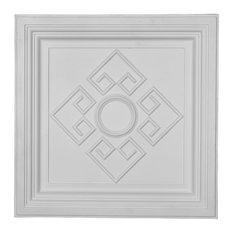 """23 7/8""""W x 23 7/8""""H x 2 1/2""""P Nestor Ceiling Tile"""