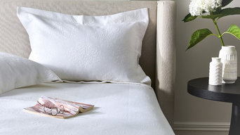 Venice White Coverlet Set