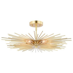 Midcentury Flush-mount Ceiling Lighting by Vaxcel