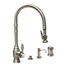 50 Most Popular Traditional Pewter Kitchen Faucets For 2018 Houzz