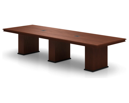 Abena Rectangular Conference Table By Nevers Industries   Desk Accessories