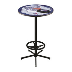 New York Rangers Pub Table 36-inch