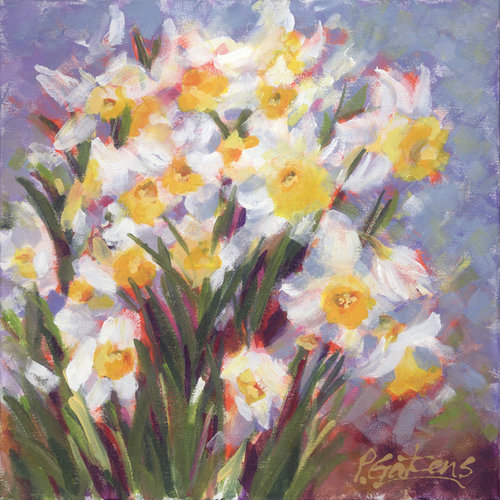 Loose Brushwork Floral Paintings - Artwork