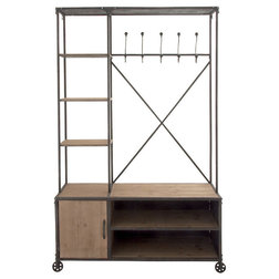 Industrial Clothes Racks by Brimfield & May