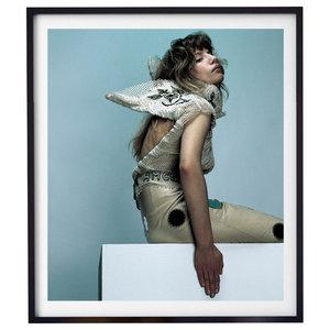 """Movement 002"" Fashion Photography Print, Framed, 58x71 cm"