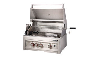 """28"""" Infrared 3 Burner Gas Grill With Lights"""