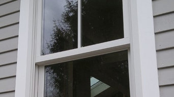 Double Hung Windows with full divided lite grilles