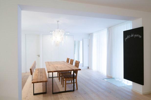 Modern Esszimmer by pur architekten petri und raff PartGmbB