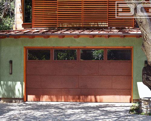 Designer Garage Doors designer steel garage door606 view Fine Cor Ten Steel Designer Garage Doors In A Contemporary Architectural Design