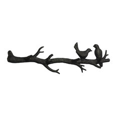 Bird Branch Accent or Wall Shelf in Canyon Bronze