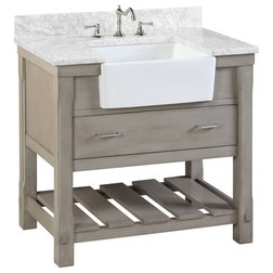 Farmhouse Bathroom Vanities And Sink Consoles by Kitchen Bath Collection