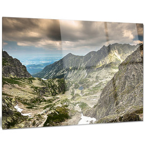 Tatra Mountains From Hiking Trail Landscape Photo Canvas Art Print Contemporary Prints And Posters By Design Art Usa Houzz