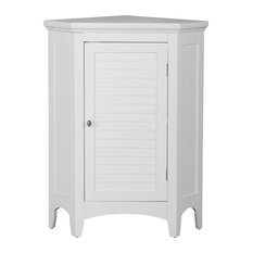 'Elegant Home Fashions - Sloane Corner Floor Cabinet, White - Bathroom Cabinets and Shelves' from the web at 'https://st.hzcdn.com/fimgs/3a6196ec08a4ae73_7579-w233-h233-b1-p10--.jpg'