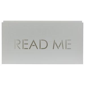 Read Me Magazine Rack, White