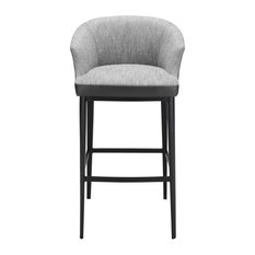 Beckett Bar Stool, Gray