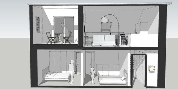 Contemporain Perspectives Intérieures by Agence d'Architecture SCA