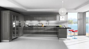 Kitchen remodel grey tones